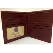Osgoode Marley Sienna Collection Leather ID Hipster Wallet - Whiskey - Wallets - $62.00