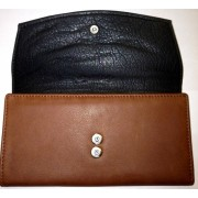 Osgoode Marley Womens Leather Card Case Wallet Brandy - Wallets - $64.00