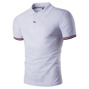 PAUL JONES Men's Casual Regular-Fit Golf Polo Shirt PJ0134 - Рубашки - короткие - $6.99  ~ 6.00€