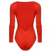 PEATAO Backless Body Shaper Round Neck Shapewear Round Neck Leotards Bodysuits - Donje rublje - $10.59  ~ 9.10€