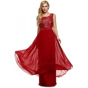 PEATAO Sexy Maxi Dress Cocktail Long Dress Bridesmaid Formal Dress Dresses - My look - $47.24