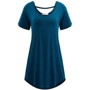 PEATAO Tshirt Women Plus Size Summer Women Tunic Tops Short Sleeve Summer Tunics for Women to wear with Leggings Tunics - Košulje - kratke - $19.75  ~ 16.96€