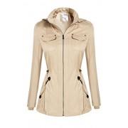 PEATAO rain Coats Bomber Jacket Long Coat Casual Jackets - Outerwear - $35.32  ~ 224,37kn