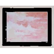 PINK WALL ART FRAMED - Uncategorized -