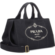 PRADA Jardinera Large canvas shopper bag - Bolsas pequenas -