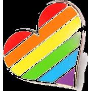 PRIDE heartpin - Uncategorized -