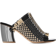 PROENZA SCHOULER Woven leather and raffi - Sandalias - £405.00  ~ 457.69€