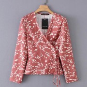 Pastoral small floral waistband straps f - Pullovers - $25.99