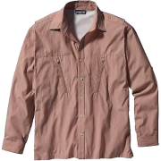 Patagonia Cool Shade Shirt - Long Sleeve - Men's Frying Pan/Allspice - Camisa - longa - $79.00  ~ 67.85€