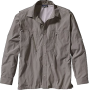 Patagonia Cool Shade Shirt - Long Sleeve - Men's Frying Pan/Alpha Green - Camisa - longa - $79.00  ~ 67.85€