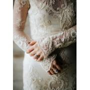 Pearle lace wedding gown ClairePettibone - Laufsteg -