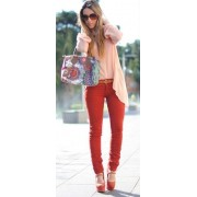 Pink and red - My look -