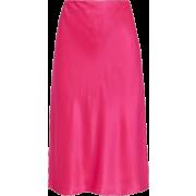 Pink Marta silk-satin skirt | HELMUT LAN - Uncategorized -