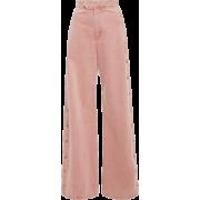 Pink Pants - Capri & Cropped -