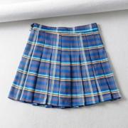 Plaid pleated skirt skirt - Suknje - $25.99  ~ 165,10kn