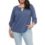 Plus Size Gauze Knit Top - Top - $16.99