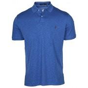 Polo Ralph Lauren Men's Interlock Pony Shirt-Blue Heather 7105 - Shirts - $39.07