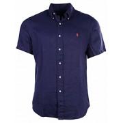 Polo Ralph Lauren Men's Linen Button Down Shirt - Shirts - $64.22