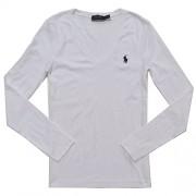 Polo Ralph Lauren Womens Perfect V Neck T-Shirt - Shirts - $24.00