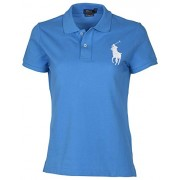 Polo Ralph Lauren Womens Skinny Fit Big Pony Polo Shirt - Shirts - $36.88