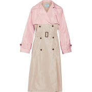 Prada colorblock trench - Kurtka -