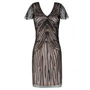 PrettyGuide Women's Flapper Dress 1920s Gatsby Beaded Cocktail Dress - Dresses - $29.99