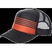 Quiksilver Boards Trucker Hat - Men's Black Red  Size:   One Size - Cap - $20.00