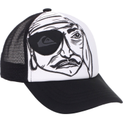 Quiksilver Boys 2-7 Stavi Kids Trucker Hat Black/White - Cap - $22.00