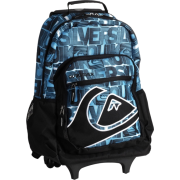 Quiksilver Boys 8-20 Hall Pass Rolling Backpack Blue Pop - Backpacks - $67.50