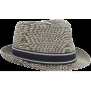 Quiksilver Men's Gunnit Fedora Hat Gunsmoke - Cap - $19.63