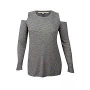 RACHEL Rachel Roy Womens Plus Ribbed Knit Cold Shoulder Casual Top - Shirts - $12.22