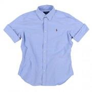 RALPH LAUREN Womens Short Sleeve Oxford Shirt - Shirts - $59.20