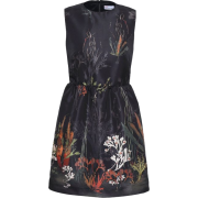 REDValentino print shell dress - Платья -