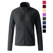 REGNA X women's heavy polar fleece full zip up fleece jacket Grey S Small - Outerwear - $14.99