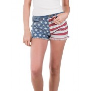 RK RUBY KARAT Premium Design Womens High Waisted Denim Jean Shorts - Shorts - $62.99