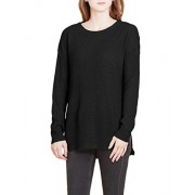 RK RUBY KARAT Womens Oversized Long Sleeve Knitted Tunic Pullover Sweater - Shirts - $33.49