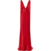 Rachel Gilbert red lior satin gown - Dresses -