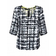 Rachel Roy Women's All Things With Love Printed V-Neck Top - Shirts - $10.95