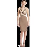 Rampage Junior's Ruffle Animal Print 2Fer Dress Tan - Vestiti - $36.75  ~ 31.56€