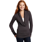 Rampage Juniors Cowl Neck Pullover Sweater Grey - Pullovers - $22.96