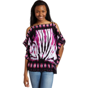 Rampage Juniors Dolman Top with Cold Shoulder Bright purple - Top - $28.38