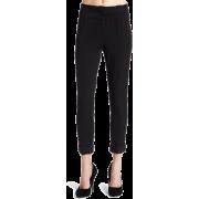 Rampage Juniors Paper Bag Waist Pant Black - Pantaloni - $35.64  ~ 30.61€