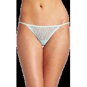 Rampage Women's Lace Thong Light Blue - Cinturini - $3.13  ~ 2.69€