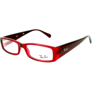 Ray-Ban Glasses Ray Ban Eyeglasses frame RX 5076 RX5076 5125 Acetate Red - Sunglasses - $105.62