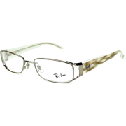 Ray-Ban Glasses Ray Ban Eyeglasses frame RX 6157 RX6157 2502 Metal - Acetate dark ruthenium Gun - Eyeglasses - $112.57