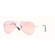 Ray-Ban Jr Sunglasses Rj9506S 211/7E Pink Pink Mirror Silver Gradient - Sunglasses - $60.00