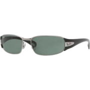 Ray-Ban Jr Sunglasses Rj9522S 200/71 Gunmetal Green - Sunglasses - $65.33