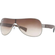 Ray-Ban Sunglasses Rb3471 029/13 Gun Metal Matte Brown Gradient - Sunglasses - $108.40