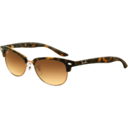 Ray-Ban Sunglasses Rb4137 710/51 Light Havana Brown Crystal Brown Gradient - Sunglasses - $120.00