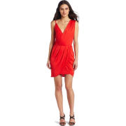 Rebecca Minkoff - Clothing Women's Dehlia Draped Dress Clambake - Dresses - $348.00